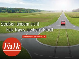 Falk Navi Kartenupdate